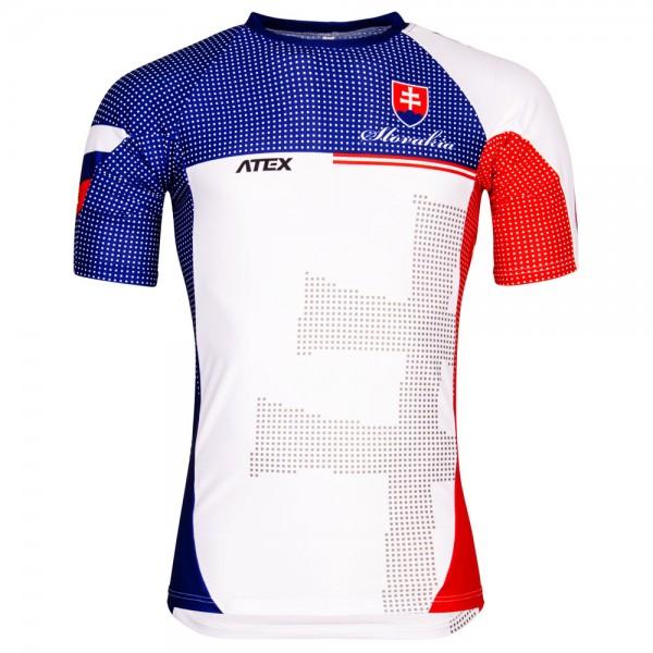 Priliehavý atletický dres SLOVAKIA