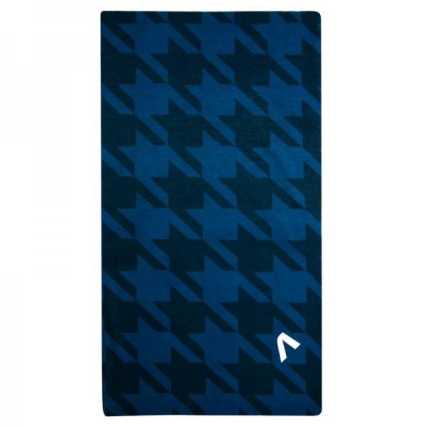 Univerzálna tenká šatka PEPITO modrá