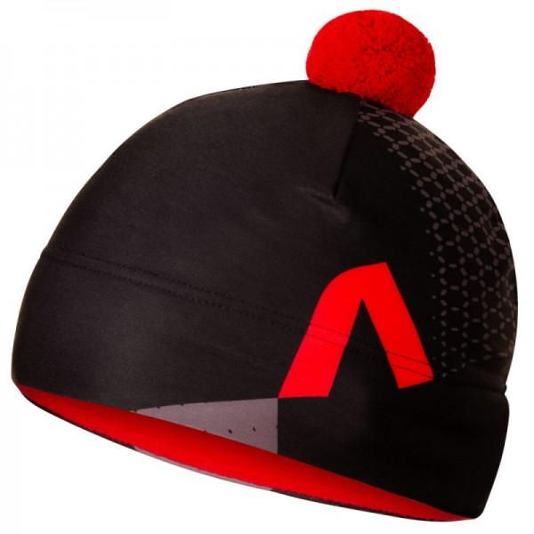 Športová dvojvrstvová čiapka REVOLT RED