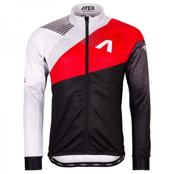 Cyklistická bunda REVOLT RED