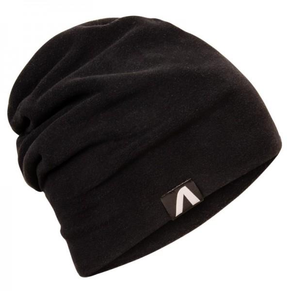 Fleecová čiapka čierna