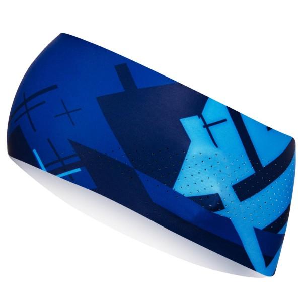 Bežecká čelenka CROSS BLUE