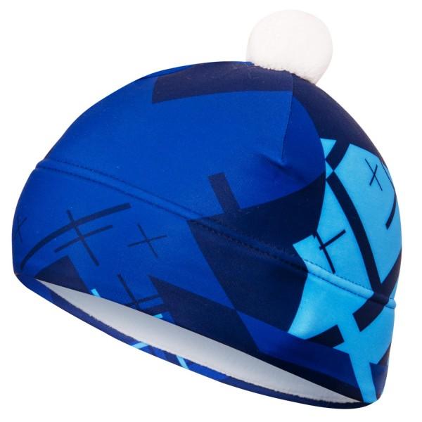 Dvojvrstvová čiapka CROSS BLUE