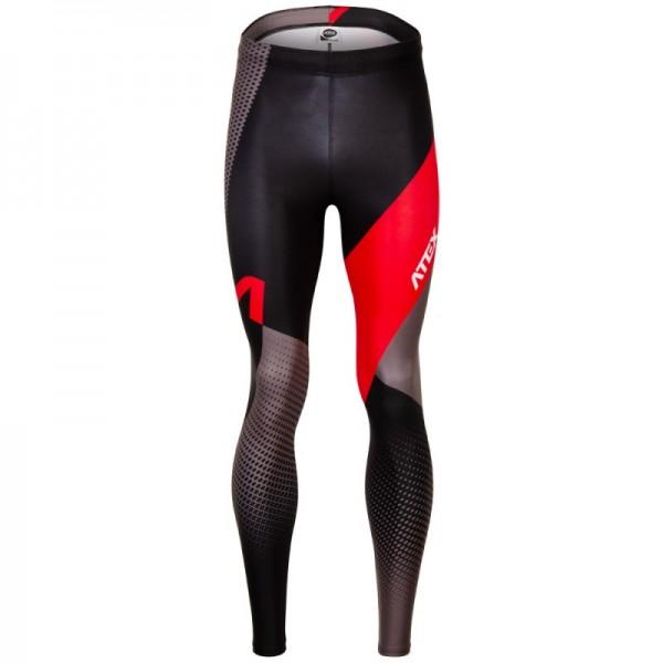 Atletické nohavice REVOLT RED dlhé