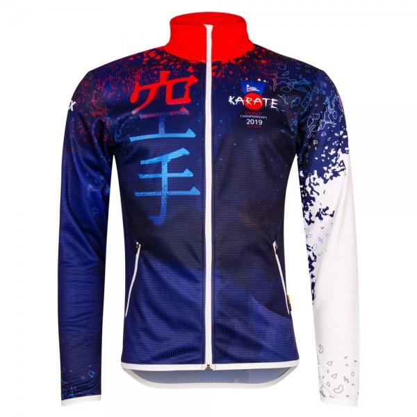 Športová mikina/Tracksuit jacket Karate WCH 2019 SLOVAKIA