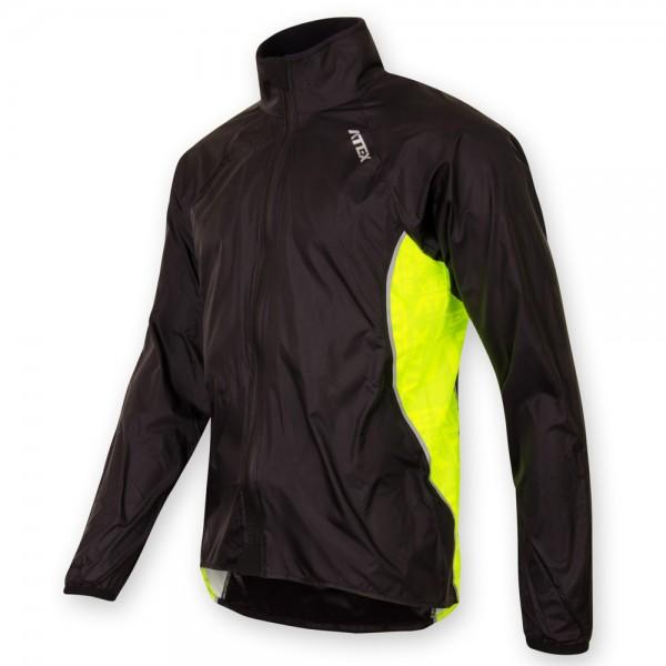 Ľahká reflexná bunda BOAZ čierna