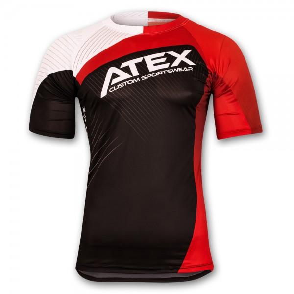 Pánsky priliehavý atletický dres CUSTOM, krátke rukávy