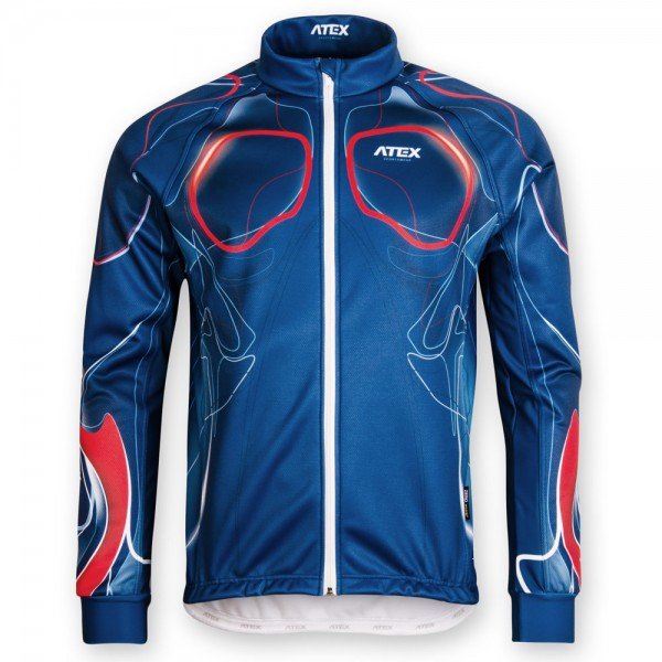 Cyklistická bunda BIATEX BLUE
