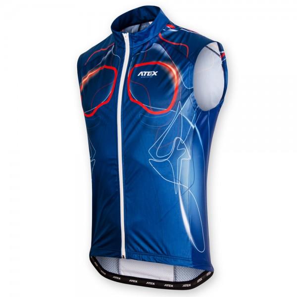 Cyklistická vesta BIATEX BLUE
