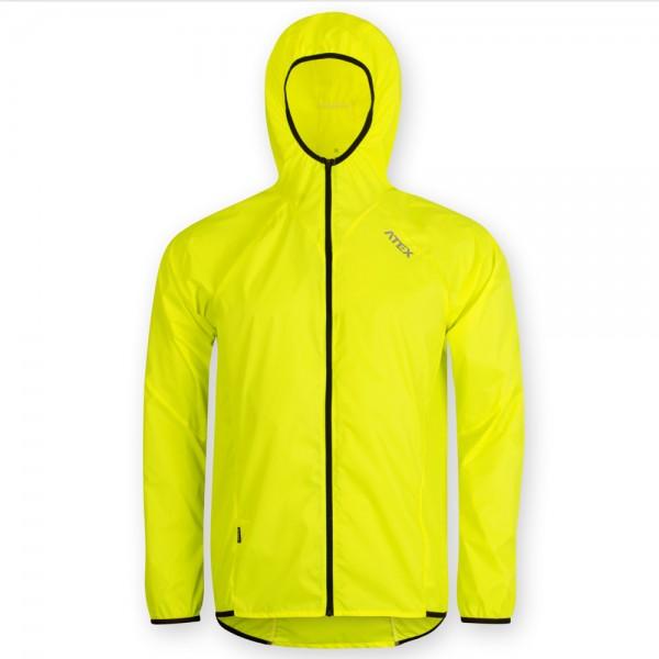 Ultraľahká vetrovka SAM s kapucňou žltá