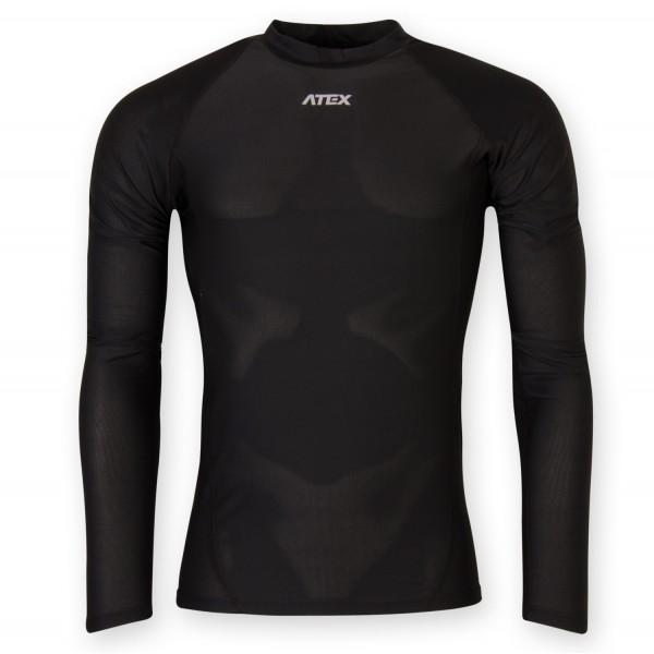 Športový dres KOBI s dlhými rukávmi čierny