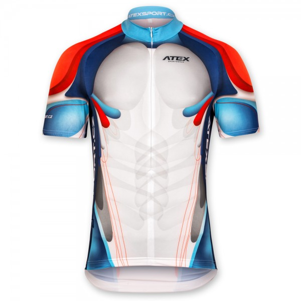 Cyklistický dres BIATEX WHITE
