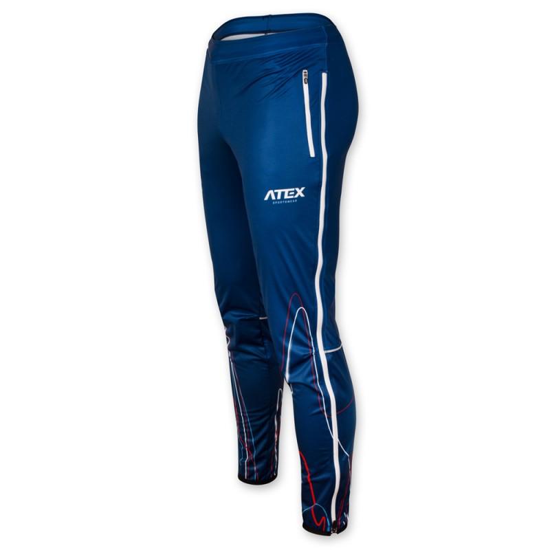 7fe9ea3f9 Bežecké nohavice BIATEX BLUE dámske
